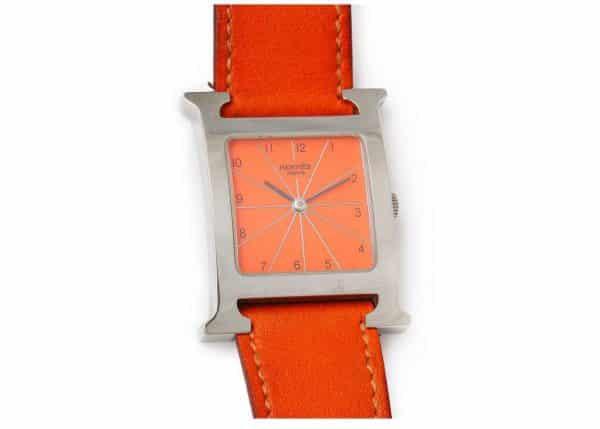 """hermes """"H"""" heure watch"""