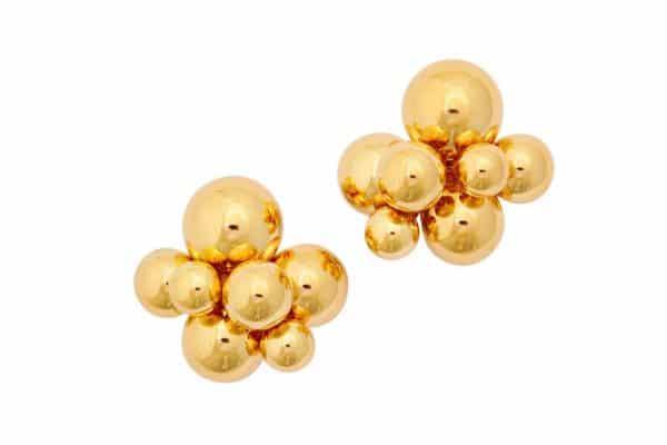 marina b. 18k gold earrings
