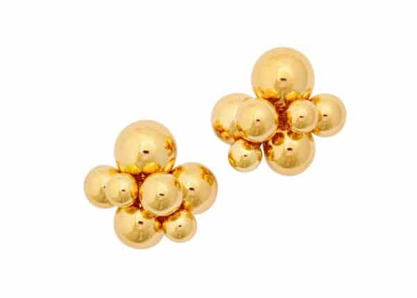 marina b. 18k gold earrings