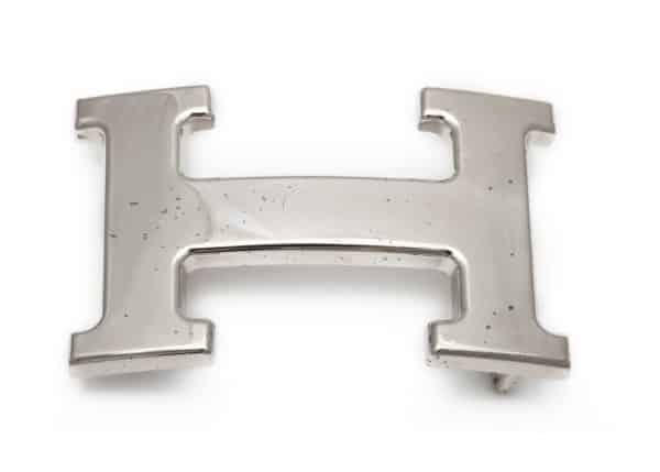 "hermes ""H"" belt buckle"