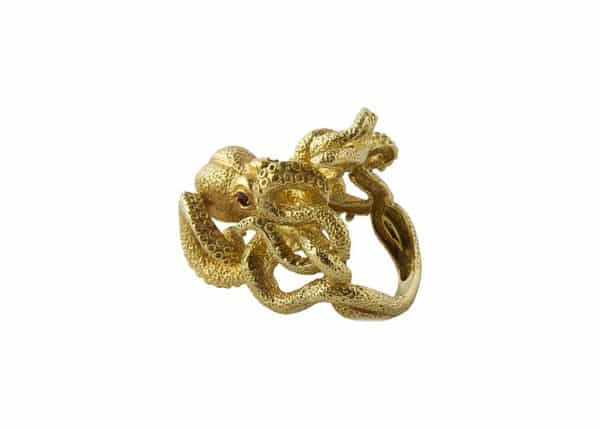 kurt wayne gold octopus ring
