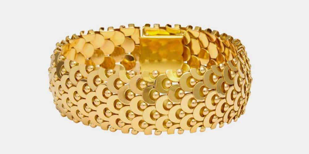 boivin gold bracelet