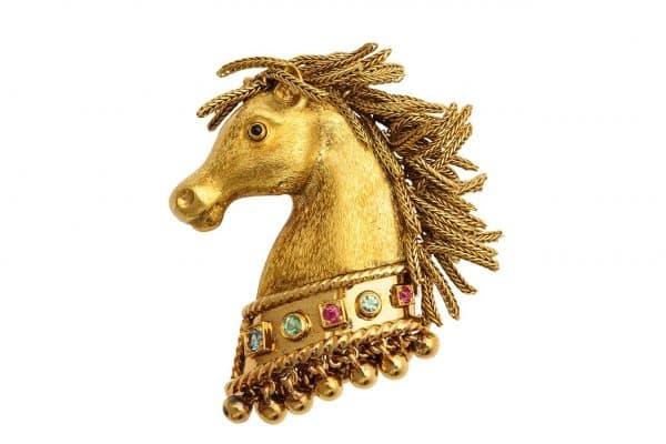 boivin en tremblant horse pin