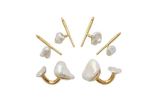 christopher walling pearl stud set