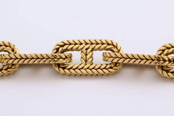 hermes TGM chaine d'ancre bracelet