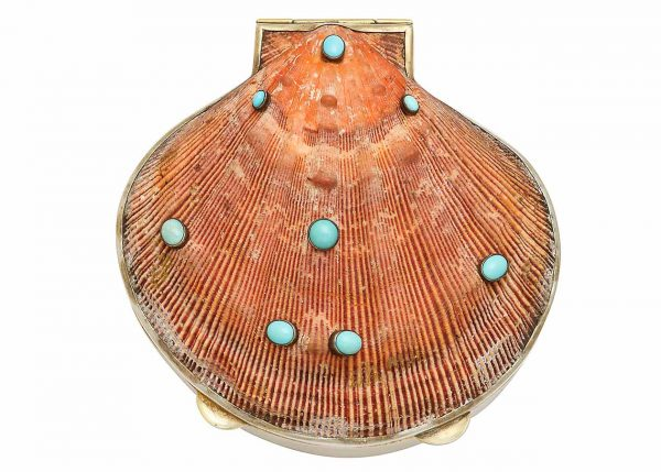marguerite stix shell minaudiere