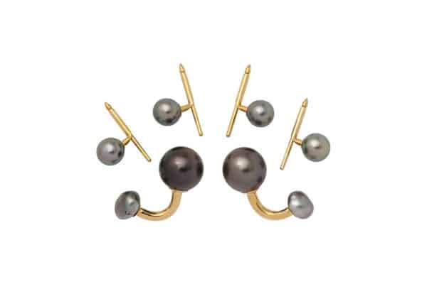 tahitian pearl walling stud set