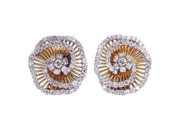 van cleef tourbillon earrings