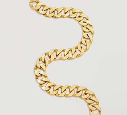 verdura curb link necklace