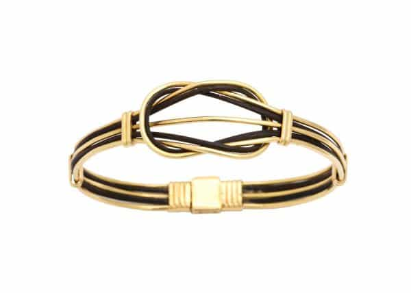 18k elephant hair bracelet