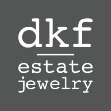 dkf estate jewelry logo