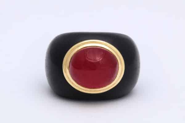 seaman schepps ruby ring