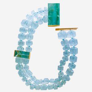 christopher walling aquamarine necklace