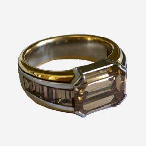 hemmerle brown diamond ring