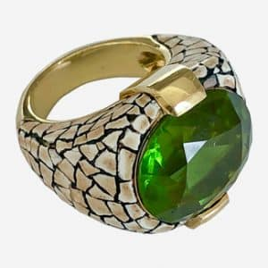 nicholas varney green ring