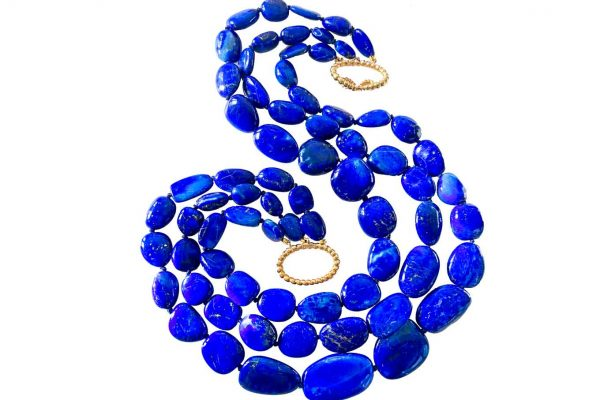 verdura lapis necklace