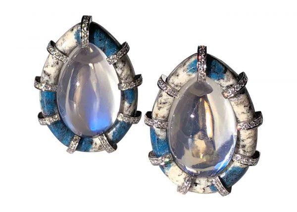 nicholas varney k2 moonstone earrings