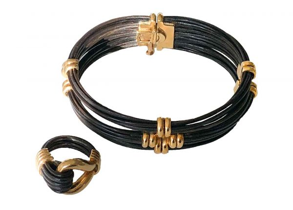 vca elephant hair ring bracelet