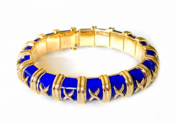 schlumberger paillone enamel bracelet