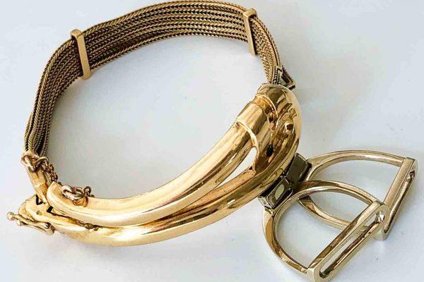 hermes equestrian bracelet