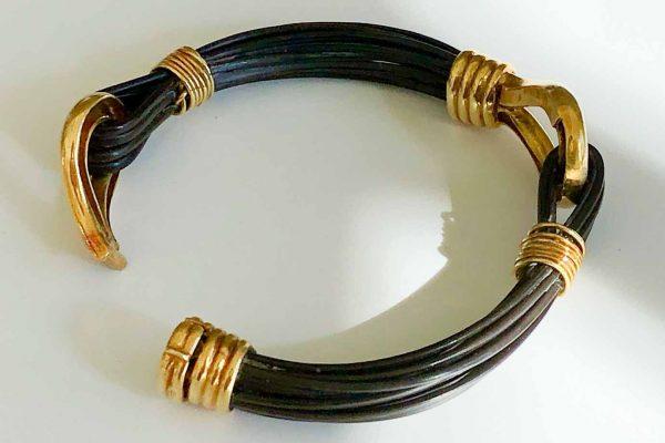 vintage van cleef elephant hair bracelet