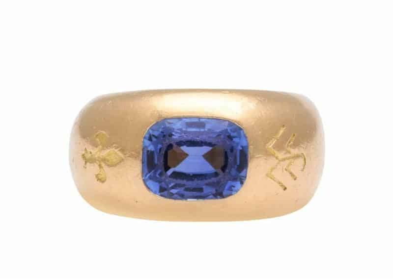 jar sapphire ring