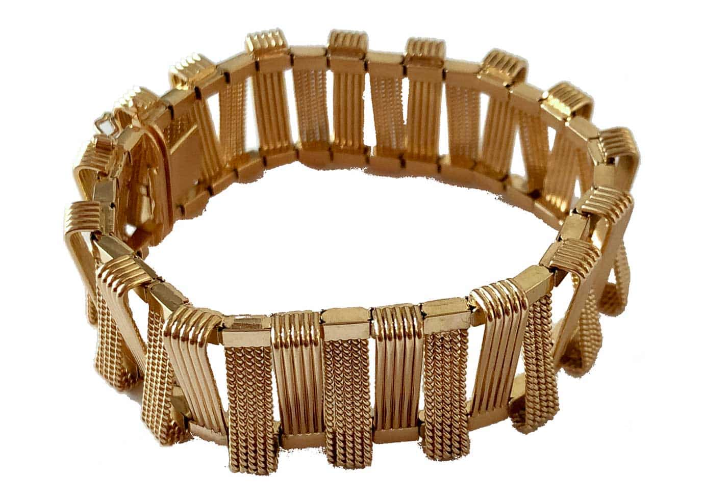 french fifties geometric bracelet