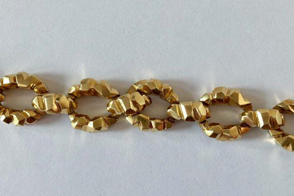 vintage van cleef link bracelet