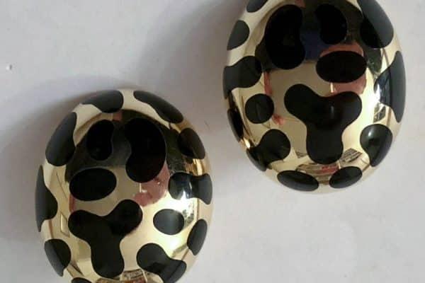 angela cummings jaguar earrings
