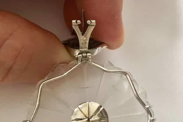 furmanovich snowflake earrings