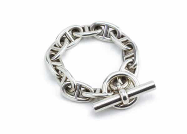 hermès chaine d' ancre bracelet