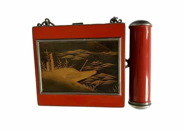 asian design gold box