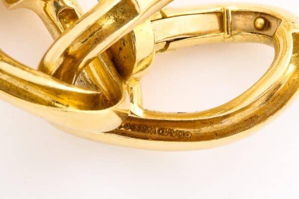 David Webb nail bracelet