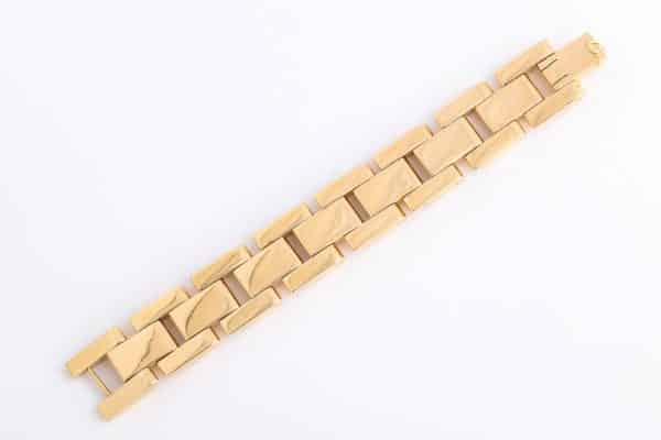 vintage forties tank track bracelet
