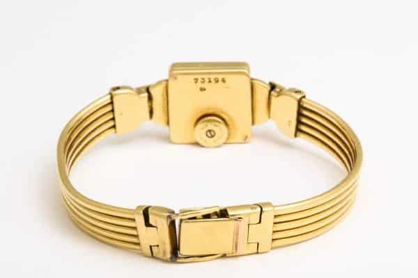 vintage cartier 18k watch