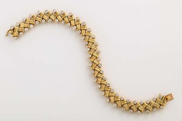 van cleef and arpels grain de ble bracelet